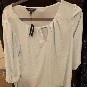 Express Jeans light blue blouse
